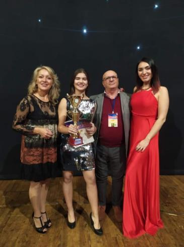 Іршавчанка Катерина Сапожнік — володарка гран-прі міжнародного конкурсу «GOLD LION»