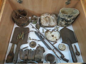 Іршавський історико-краєзнавчий музей поповнився унікальними експонатами з часів Першої світової війни (Відео)